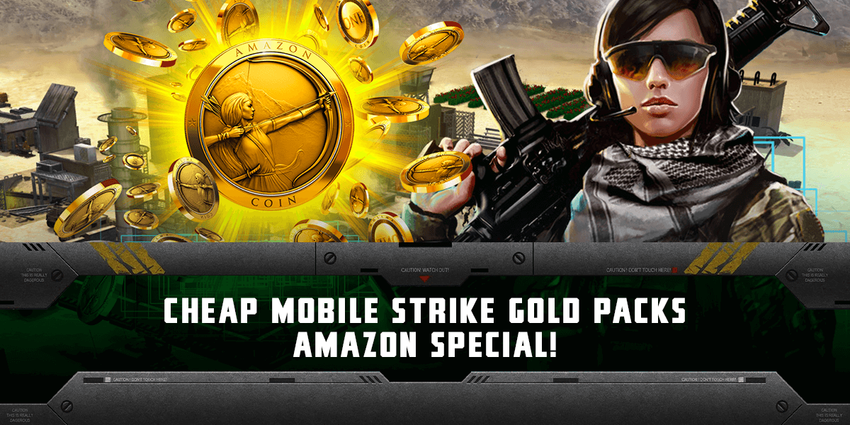 feat amazon coins - Mobile Strike MOD APK Hack Unlimited Gold, Speed Ups