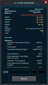 Specialist Stats 1