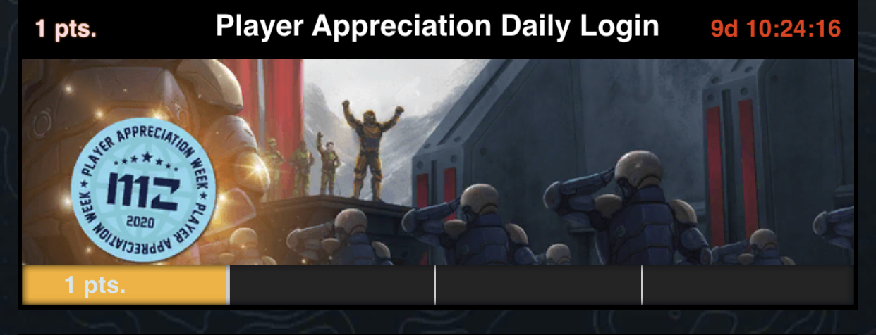 Player Appreciation Day Gift
